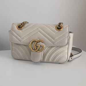 Small GG Marmont Matelasse Shoulder Bag